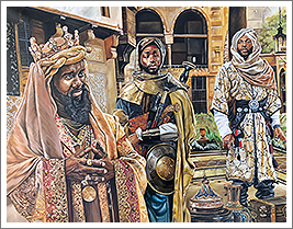 Image of Three Kings Painting